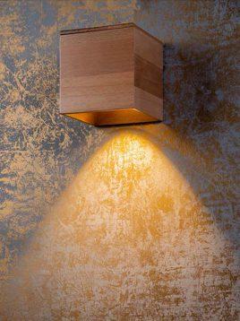 چراغ دیواری چوبی ال ای دی سان هوم کد W0121
