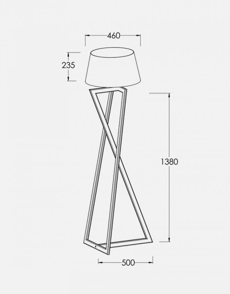 آباژور چوبی  مدل H0117