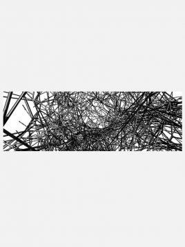 رادیاتور شیشه ای آترین مدل افقی