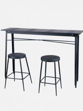 ست دو نفره میز و صندلی کانتر نهالسان کد ۳۴۰