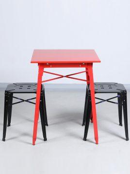 ست دو نفره میز و صندلی رستورانی نهالسان کد ۱۴۰