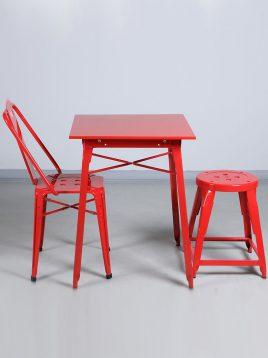 ست دو نفره میز و صندلی رستورانی نهالسان کد ۷۳۰