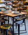 ست چهار نفره میز و صندلی رستورانی نهالسان کد ۳۲۴