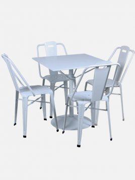 ست چهار نفره میز و صندلی رستورانی نهالسان کد ۴۳۰