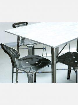 ست شش نفره میز و صندلی رستورانی نهالسان کد ۸۲۰