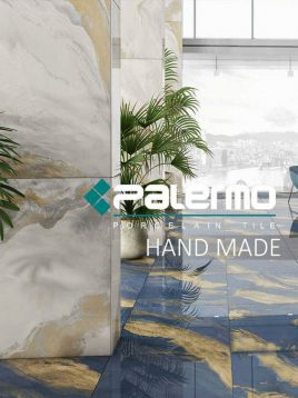 سرامیک پالرمو ۸۰ در ۱۲۰ طرح اوشن سفید