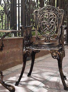 صندلی دسته دار آلومینیومی صنیع کار مدل مرغابی