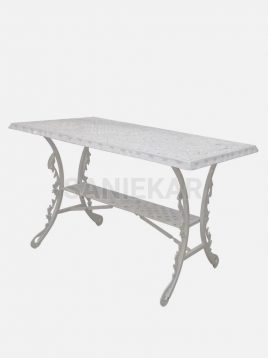 میز فضای باز آلومینیومی صنیع کار مدل مستطیلی