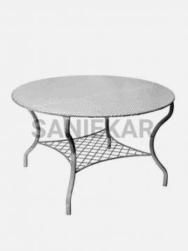 میز فلزی صنیع کار مدل صفحه توری
