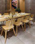 صندلی چوبی استیل هامون مدل تسلا