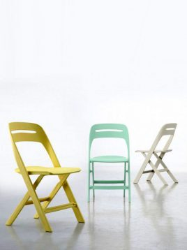 صندلی پلاستیکی استیل هامون مدل ماکان