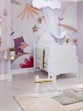 تخت کودک دو منظوره آپادانا مدل پالی