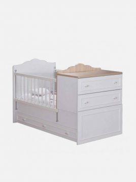 تخت کودک دو منظوره آپادانا مدل رونیکا