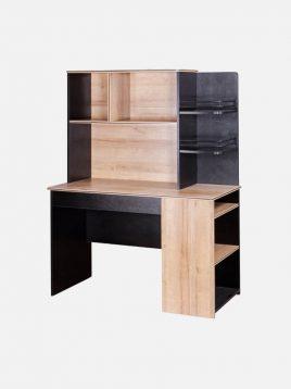 میز تحریر چوبی مشکی زاگرس آپادانا مدل دالاس