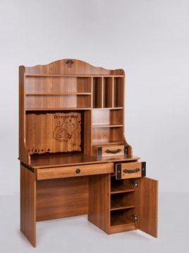 میز تحریر چوبی قهوه ای آپادانا طرح کشتی