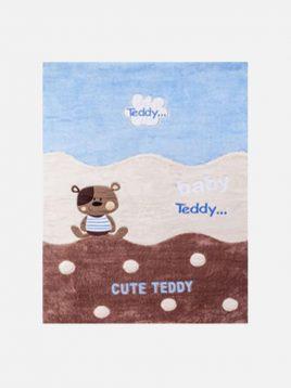 فرش خرسی کودک آپادانا مدل تدی