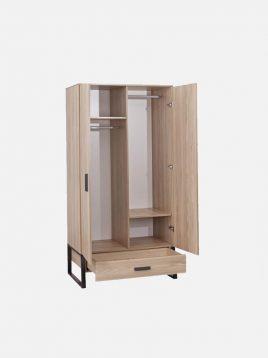 کمد دو درب چوبی آپادانا مدل رامونا