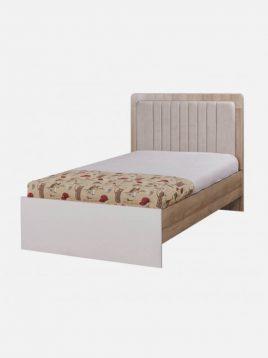 تخت چوبی کاراملی دو نفره آپادانا مدل هاروارد