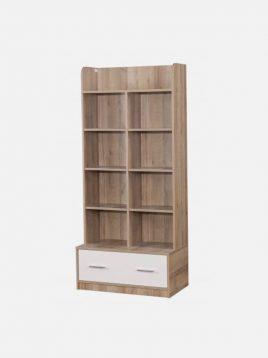 کتابخانه چوبی کاراملی آپادانا مدل هاروارد