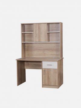 میز تحریر چوبی کاراملی آپادانا مدل هاروارد