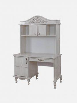 میز تحریر چوبی سفید آپادانا مدل آرکانا