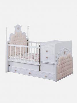 تخت کودک دو منظوره آپادانا مدل روژین