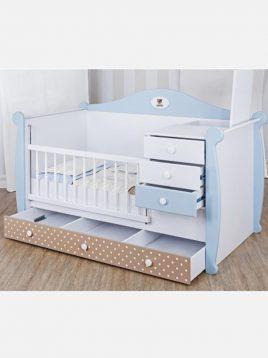 تخت کودک دو منظوره کاناپه ای آپادانا مدل تدی