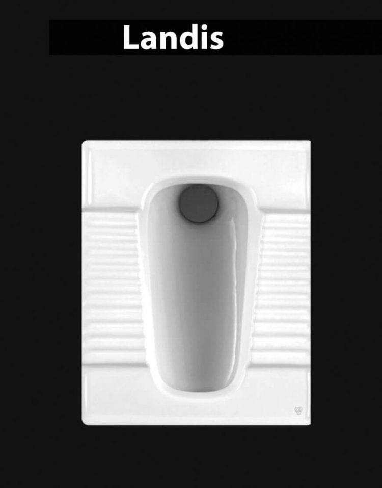 توالت ایرانی چینی کرد مدل لاندیس