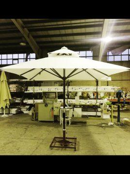 سایبان چتری تلسکوپی تکنو ویلا مدل TMA16
