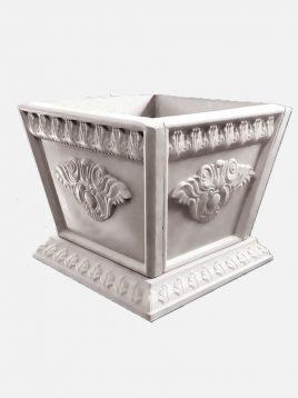 گلدان سنگی یاقوت مدل مربع