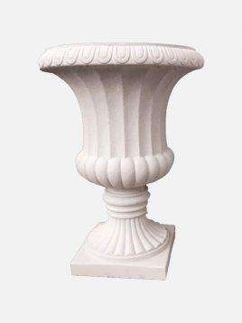 گلدان سنگی یاقوت مدل رومی بزرگ