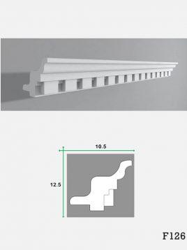 ابزار گچی لبه نور مخفی کناف فرسان مدلF126