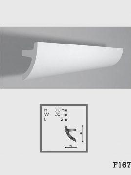 ابزار دکوراتیو گچی فرسان مدل F167