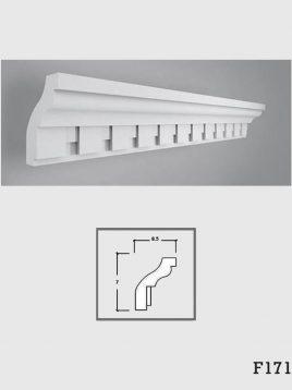 ابزار دکوراتیو گچی فرسان مدل F171