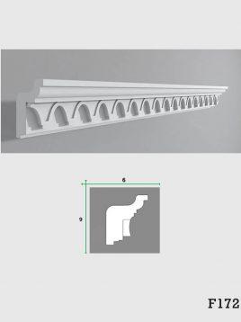ابزار دکوراتیو گچی فرسان مدل F172