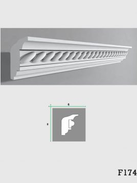 ابزار دکوراتیو گچی فرسان مدل F174