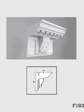 ابزار دکوراتیو گچی فرسان مدل F193