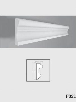 ابزار دکوراتیو گچی فرسان مدل F231