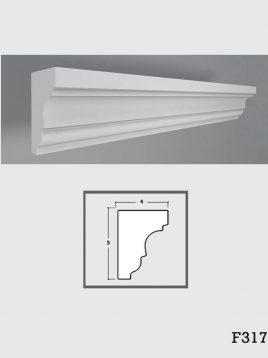 ابزار دکوراتیو گچی فرسان مدل F317