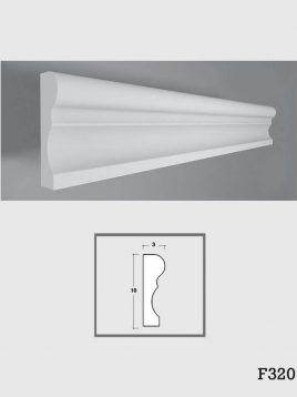ابزار قاب پیش ساخته گچی فرسان مدل F320