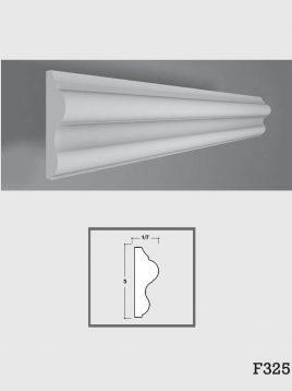 ابزار دکوراتیو گچی فرسان مدل F325