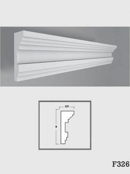ابزار دکوراتیو گچی فرسان مدل F326
