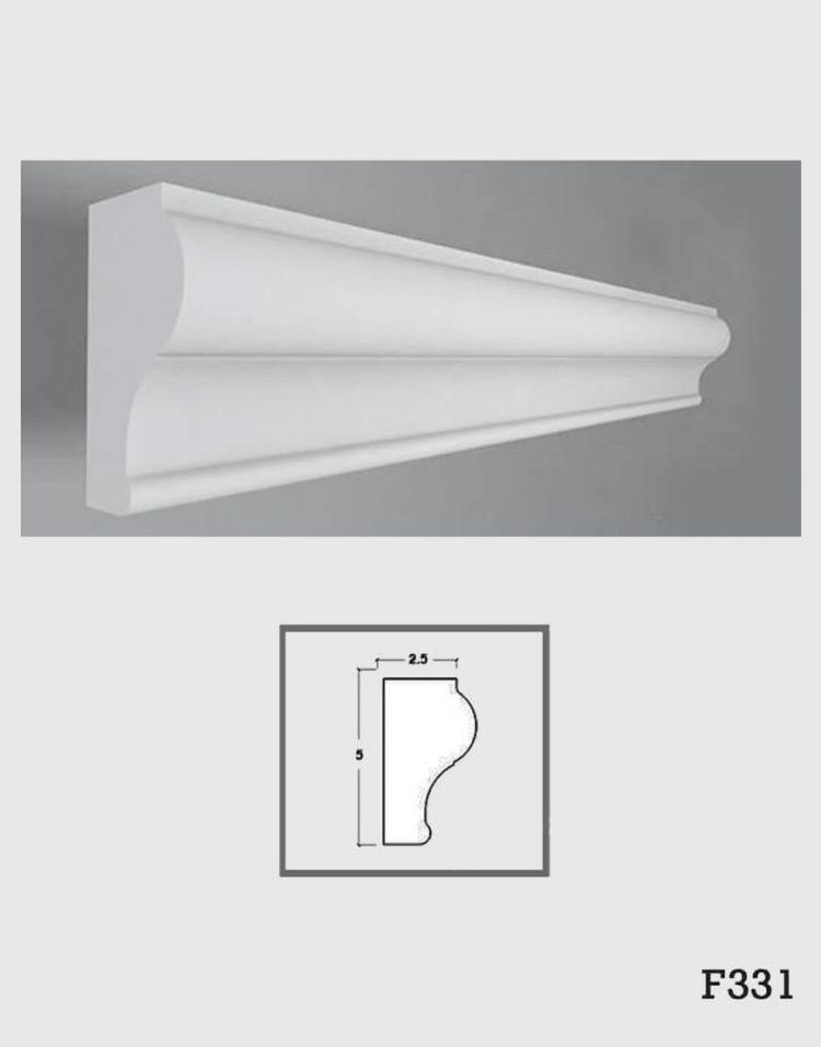 ابزار دکوراتیو گچی فرسان مدل F331