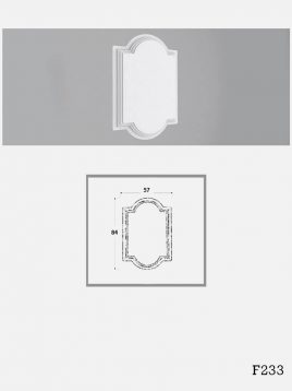 farsan tiles panels 3d F233 model1 268x358 - پانل گچی برجسته دکوراتیو فرسان مدل F233