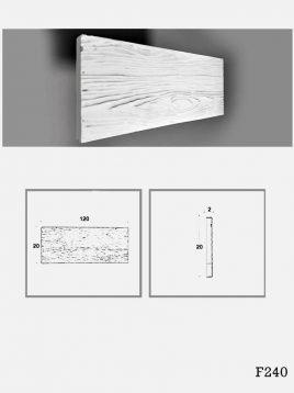 farsan tiles panels 3d F240 model1 268x358 - پانل گچی برجسته دکوراتیو فرسان مدل F240