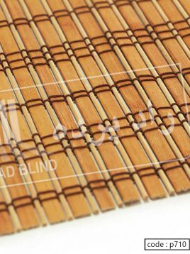 کرکره چوبی بامبو راد آلبوم قرمز کد ۷۱۰