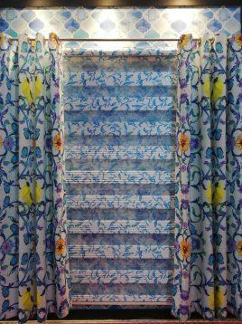 radparde Ordered design Sheer Shades and Punch Curtain set 1 268x358 - ست پرده کرکره زبرا و پانچ طرح سفارشی