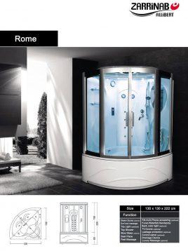 سونا بخار زرین آب مدل رم