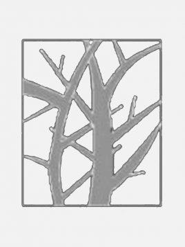 آینه تراشدار طرح درخت سندبلاست ایران گلسکو