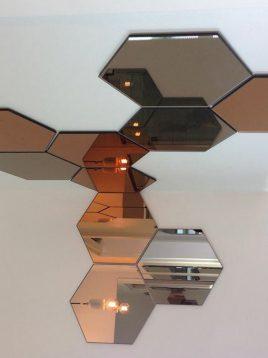 آینه ساده طرح زنبوری ایران گلسکو مدل وسپا
